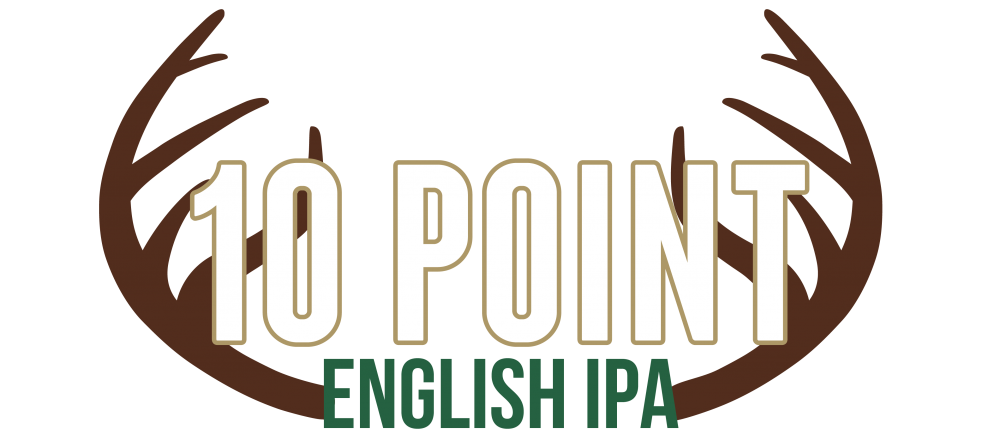 10 Point English IPA Header (antler detail)