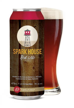 Spark House Can and Glass