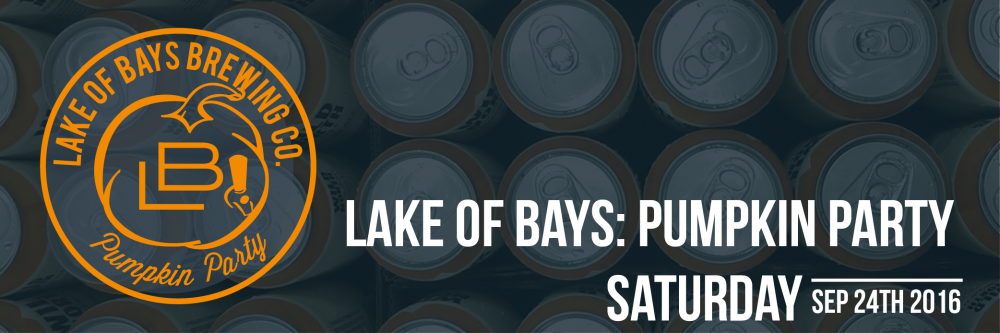 Lake of Bays Pumpkin Party on September 25th