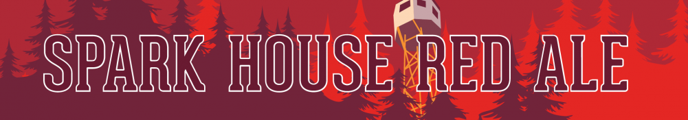Spark House Red Ale Banner