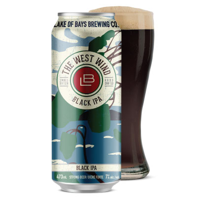 The West Wind Black IPA